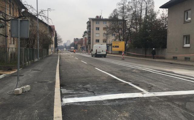 Drenikova ulica bo leta 2019 zasijala v novi podobi. FOTO: MOL