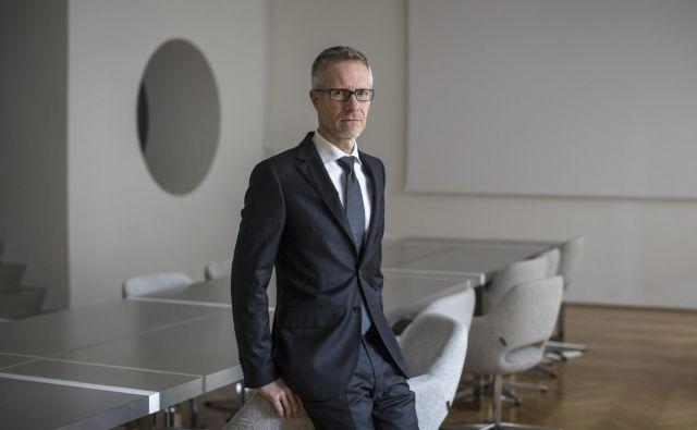Boštjan Vasle bo moral zavihati rokave, na čelu Banke Slovenije ga čaka precej dela. Foto Voranc Vogel