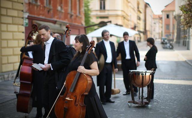 Orkester Slovenske filharmonije in Simfonični orkester RTV Slovenija sta stopila v novo sezono z novim vetrom v jadrih. Foto Jure Eržen