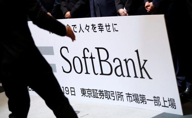 SoftBank je tretja največja telekomunikacijska družba na Japonskem. FOTO: Issei Kato/Reuters