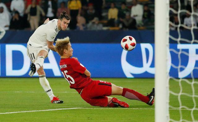 Gareth Bale je zadel trikrat. FOTO: Andrew Boyers/Reuters