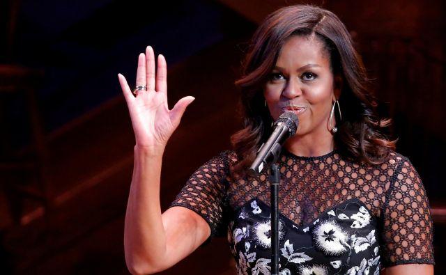 Nekdanja ameriška prva dama Michelle Obama je napisala uspešno avtobiografijo. Foto Reuters
