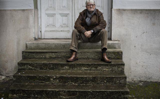 Pisatelj, pesnik in dramatik Ivo Svetina FOTO: Voranc Vogel