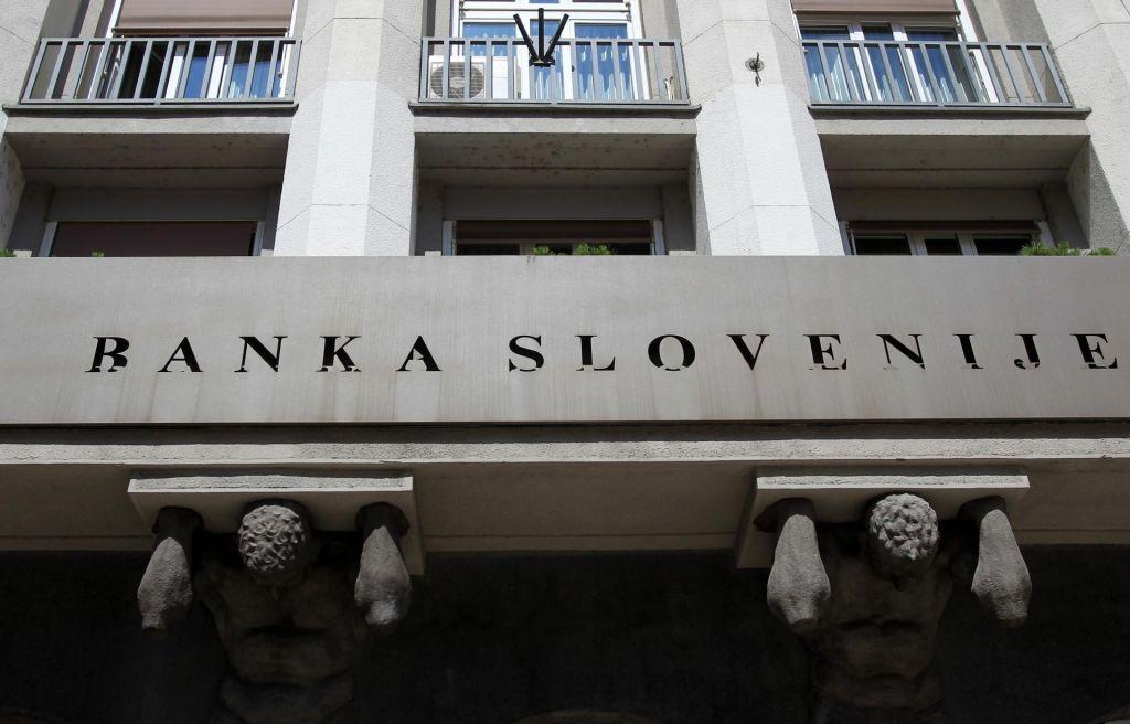 Banka Slovenije je znižala napovedi gospodarske rasti
