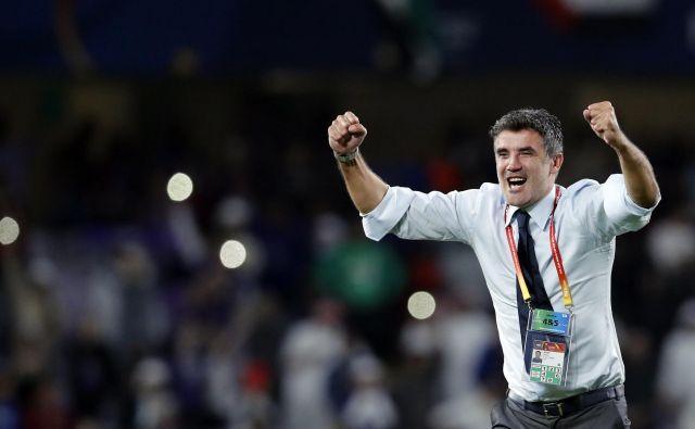 Al-Ain se je pod taktirko Zorana Mamića kot prvi klub z Arabskega polotoka uvrstil v finale klubskega svetovnega prvenstva. FOTO: AP