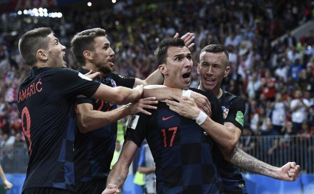 Nogomet je na Hrvaškem letos požel veliko več zanimanja kot sicer, v svetu pa so bili podatki o gledanosti nekoliko nižji. FOTO: Cropix