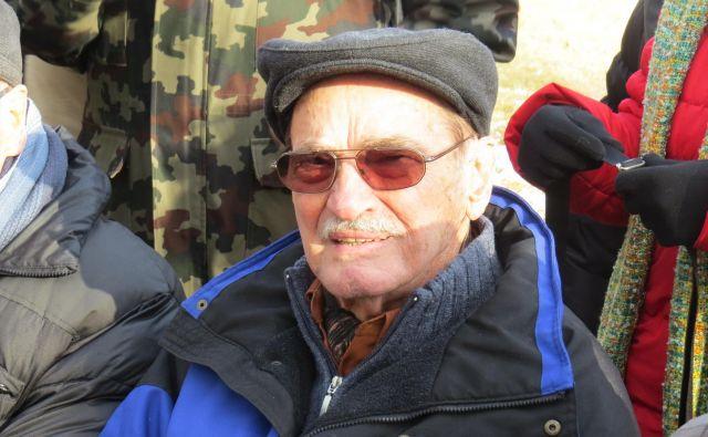 Franc Sever - Franta, partizanski komandant. FOTO: Bojan Rajšek/Delo