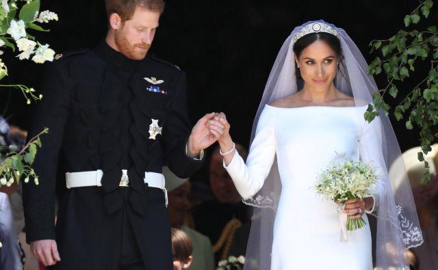 Meghan Markle in princ Harry na poroki vsaj desetletja...