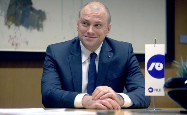 Bla�ž Brodnjak, predsednik uprava NLB. FOTO: Roman Š�ipić