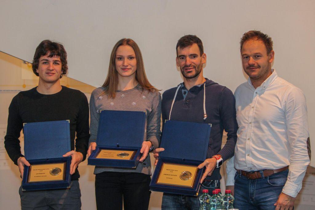 FOTO:Podeljene nagrade najboljšim triatloncem v letu 2018