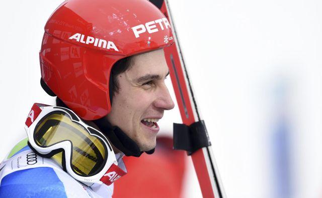 Žan Kranjec je osvojil svoje druge slalomske točke. FOTO: Marco Tacca/AP