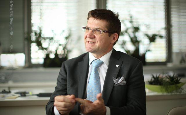 Dejan Turk je že leta 2009 prejel priznanje za menedžerja leta v Sloveniji. FOTO: Jure Eržen/Delo