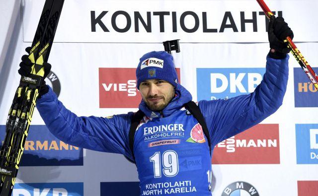 Anton Šipulin je eden najboljših ruskih biatloncev zadnjega desetletja in nosilec sedmih kolajn s SP. FOTO: AFP