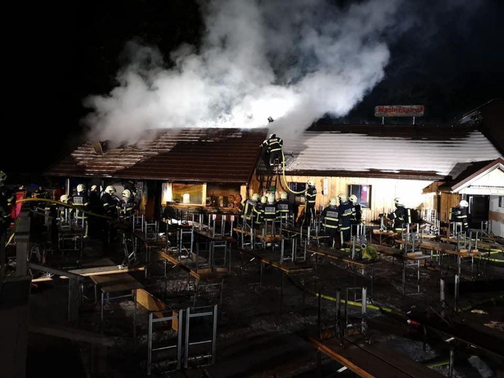 Požar zajel gostinski obrat na Rogli, škode za okrog 40.000 evrov