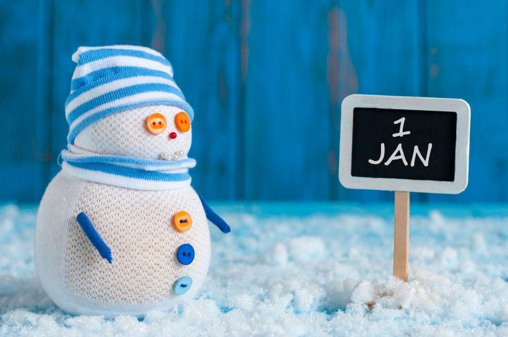 Največ Slovencev ima rojstni dan ravno na 1. januar