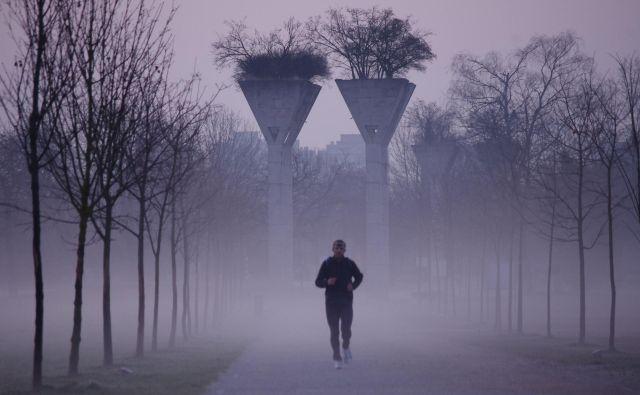 Boris Ivanović teče vsak dan. Foto Grega Kališnik