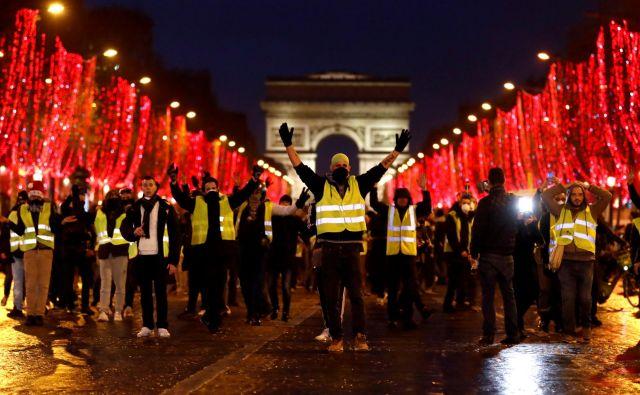 Udeležba na protestih že nekaj časa pada. FOTO: Christian Hartmann/Reuters