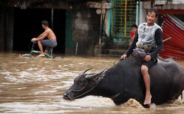Filipine na letni ravni zajame okoli 20 ciklonov, ki terjajo na stotine življenj. FOTO: Afp
