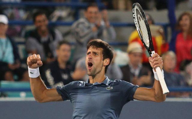 Novak Đoković je izjemno uspešno koledarsko leto zapečatil z zmago. FOTO: Suhaib Salem/Reuters