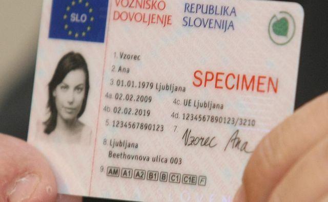 Slovensko vozniško dovoljenje lahko po selitvi brez težav uporabljate v številnih evropskih državah. FOTO: Tomi Lombar