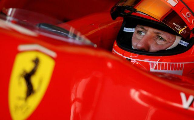 Nemški šampion Michael Schumacher, ki prav danes praznuje 50. rojstni dan, je pustil poseben pečat v formuli 1. FOTO: AFP