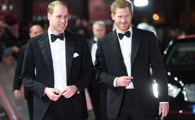 Princ William in princ Harry Foto Reuters