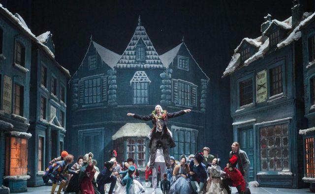 Prizor iz baleta Hrestač – Božična zgodba. FOTO: arhiv SNG Opera in balet Ljubljana