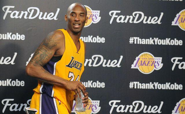 Kobe Bryant bo še naprej blažen med dekleti. FOTO: Gary A. Vasquez/Reuters