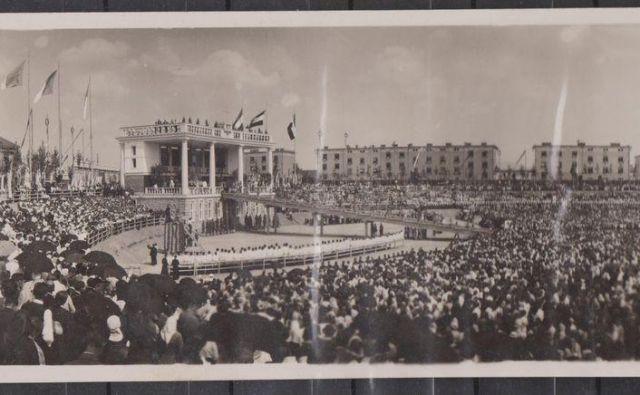 Evharistični kongres leta 1935. FOTO: Wikimedia Commons