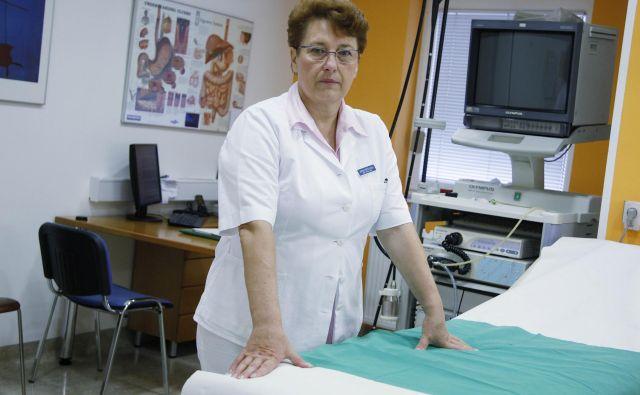 Trboveljska zdravnica Alenka Forte opozarja na razglašeno zdravstvo na nacionalni ravni ter na odgovornost lokalne zdravstvene stroke in lokalne oblasti. Foto Leon Vidic