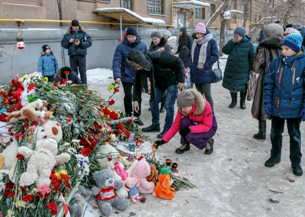 FOTO:Število žrtev eksplozije plina v Rusiji naraslo na 39 (FOTO)