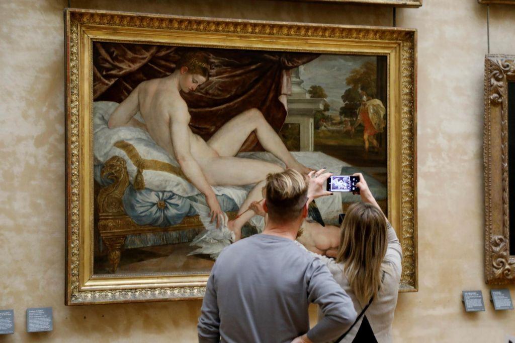 Ne le Mona Lisa, v Louvre vabila predvsem Beyonce in Jay-Z