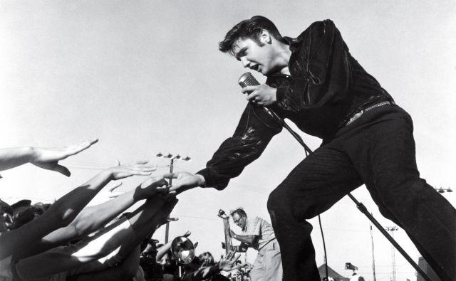 Elvis Presley, kralj rock&#39;n&#39;rolla, bi bil danes star 84 let.<br /> FOTO: Roger Marshutz