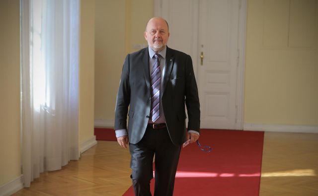 Zmago Jelinčič Plemeniti se bo znova potegoval za mesto v evropskem parlamentu. FOTO: Jože Suhadolnik/Delo