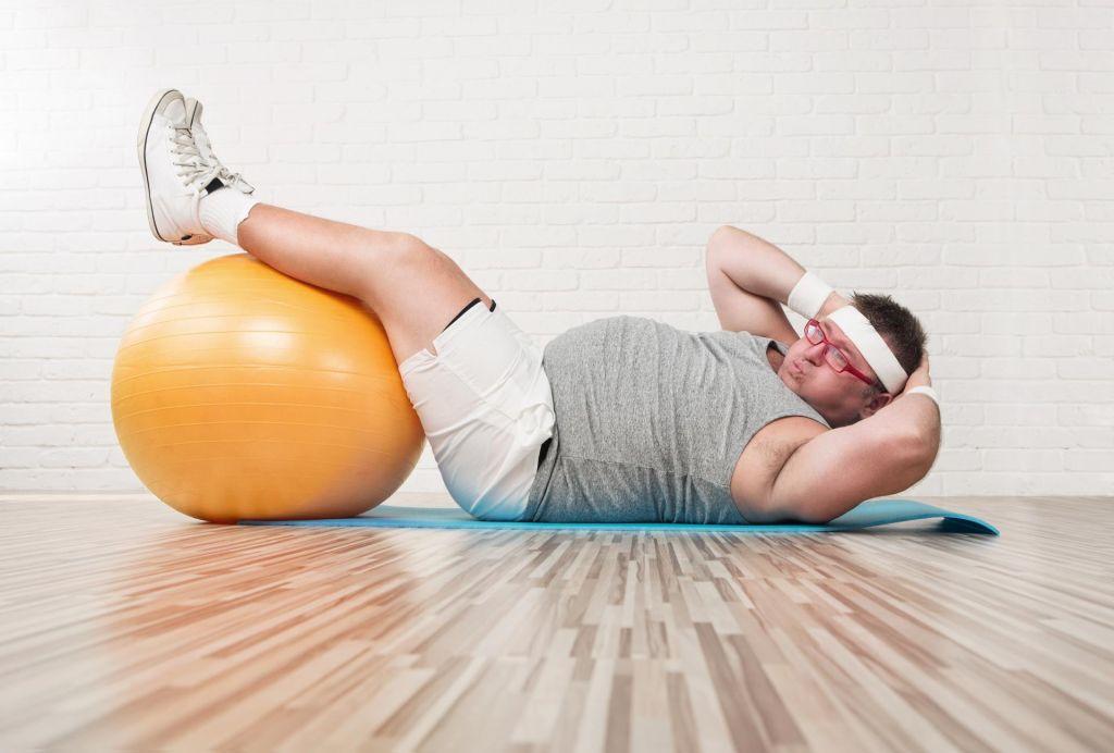 FOTO:Zakaj vam telovadba ne bo pomagala izgubiti teže