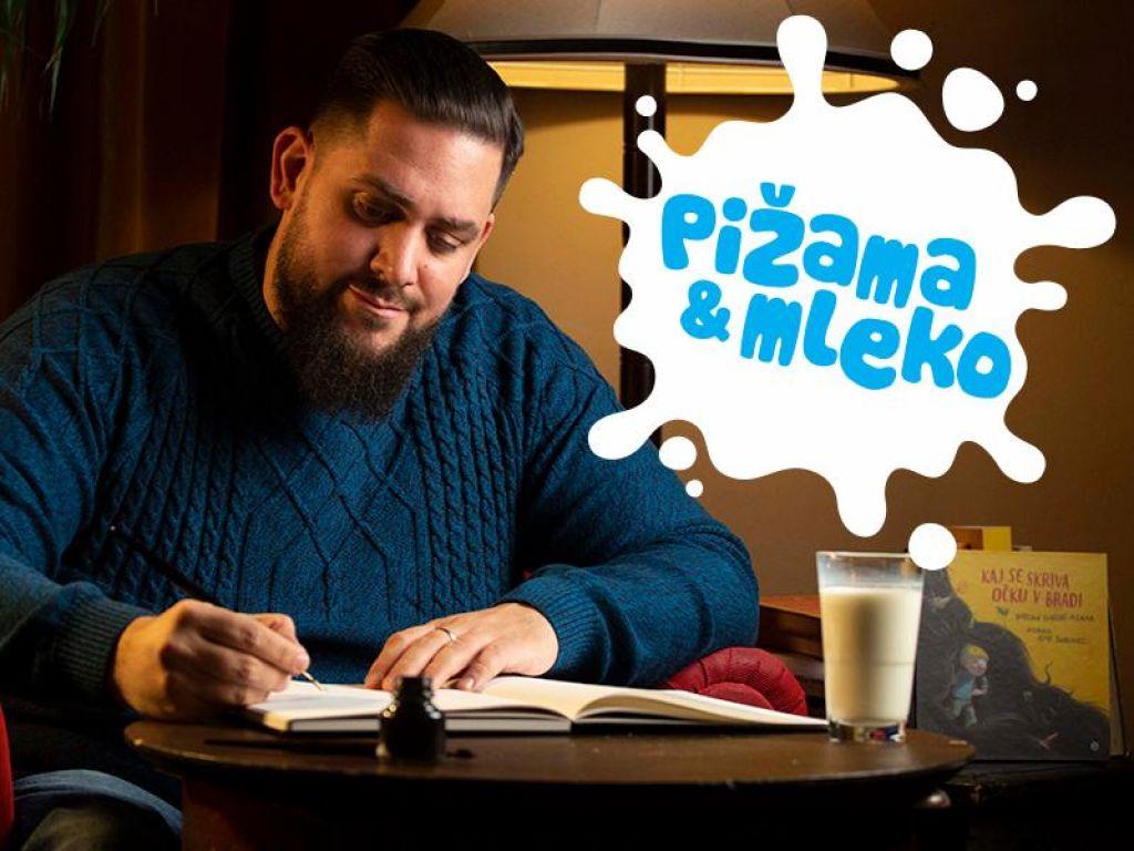 Pomagajte Boštjanu Gorencu - Pižami napisati pravljico!