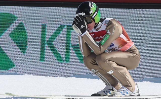 Za Petra Prevca je bila novoletna turneja 2018/2019 jubilejna deseta, prvič pa jo je končal predčasno. FOTO: Marko Feist/Slovenske novice