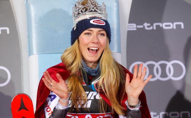 Mikaela Shiffrin je kraljica Sljemena. FOTO: Reuters
