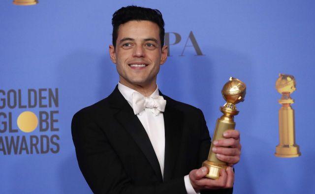 Rami Malek je postal najboljši dramski igralec. FOTO: Reuters