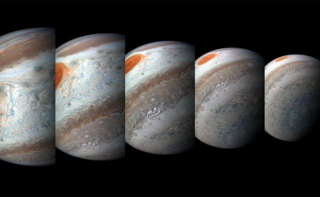Jupiter. FOTO: NASA/JPL-Caltech/SwRI/MSSS/Gerald Eichstädt/Seán Doran