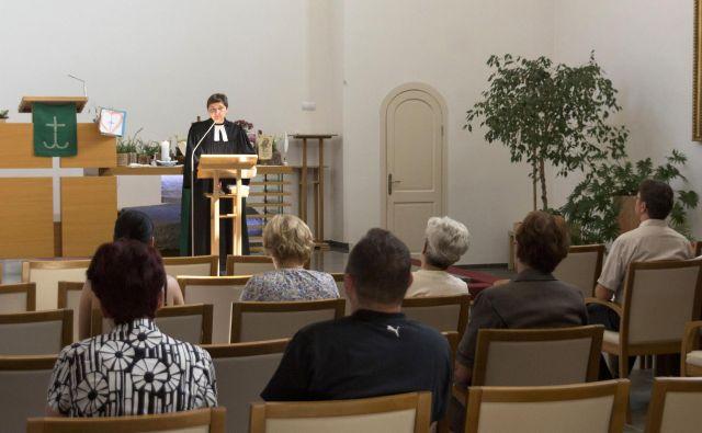 Božja služba. Foto Tomislav Vrečič