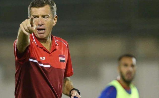 Iraški navijači od Srečka Katanca pričakujejo, da se bodo nogometaši borili za naslov azijskega prvaka. FOTO: Babagol.net