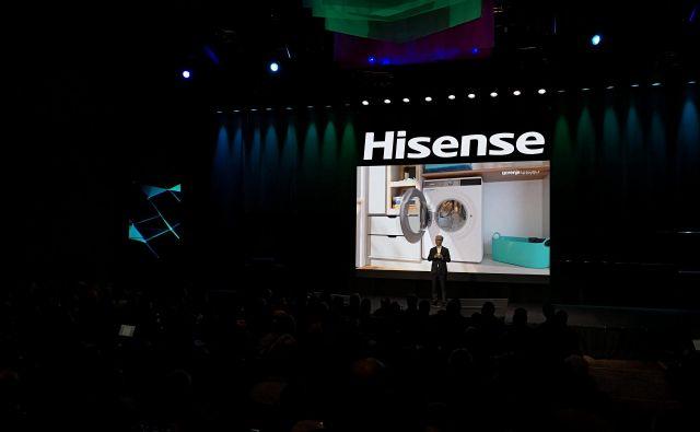 Gorenje in Hisense na sejmu predstavljata novo blagovno znamko ConnectLife. Na fotografiji: Franjo Bobinac. FOTO: Gorenje