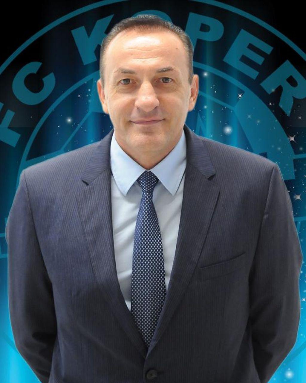 Ante Guberac hoče s Koprom ekspresno v prvo ligo in Evropo