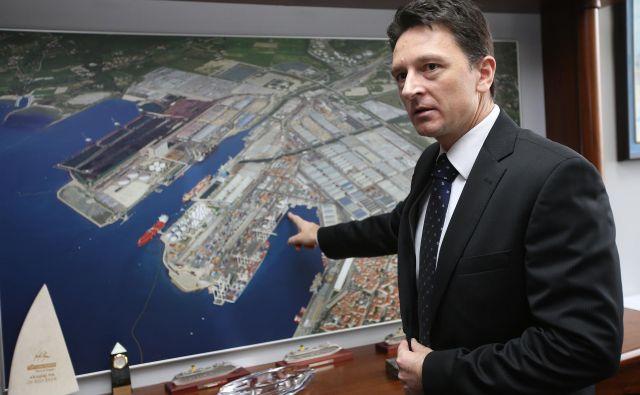 Drago Matić je vrhunski specialist za komercialne logistične posle. V Trstu so odpirali šampanjce, ko so ga v Kopru odpustili. FOTO: Igor Zaplatil/Delo