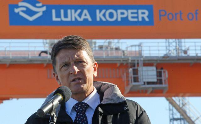 Bivši predsednik uprave Luke Koper Drago Matić je zdaj pri konkurenci. Foto Tomi Lombar