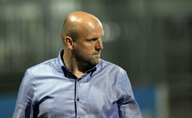 Robert Pevnik je že drugič v karieri trener Olimpije. FOTO: Mavric Pivk/Delo