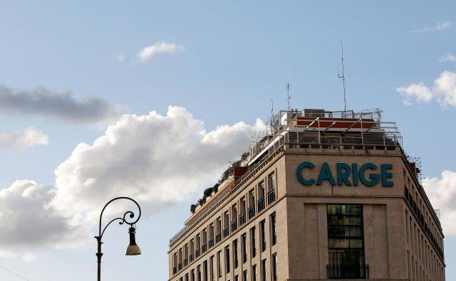 Italijanska država bo zagotovila likvidnost banke Carige s kupovanjem njenih obveznic. FOTO:Alessandro Bianchi/Reuters