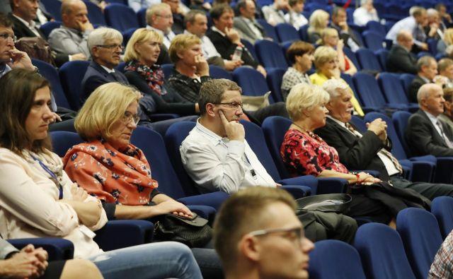 Slovenija si je priborila majhen del kolača dejavnosti organiziranja srečanj, a potencialov je več. Foto Leon Vidic