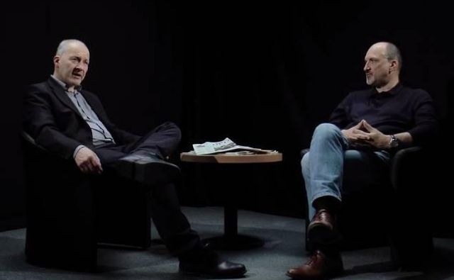Ali Žerdin in Janez Markeš sta se tokrat posvetila stanju medijev v sodobni družbi. FOTO:Delo